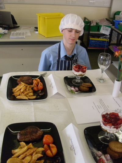 gcse catering coursework Exam board criteria a/a - gcse catering task 1 (afternoon tea) 34 - 37 /40 a has shown a detailed understanding and interpretation of the task recognising both the.