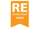 RE Quality Mark (Gold) Logo