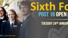 Sixth Form Post 16 Open Evening