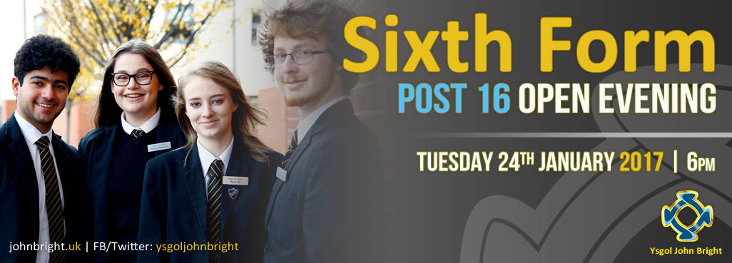 Sixth Form Post 16 Open Evening 2017