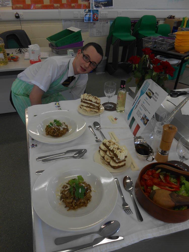 Gcse hospitality and catering coursework
