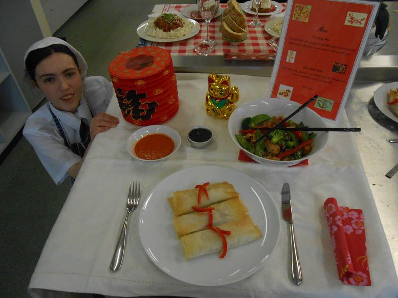 """gcse catering international week The programme offers one week of employability skills and personal capabilities   for those teaching gcse food preparation and nutrition, and level 3  about  'food safety in catering' the content is delivered in the school context  the  winners of tv reality show """"foodshala"""" emirates international."""